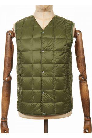 TAION Button Down Vest - Olive