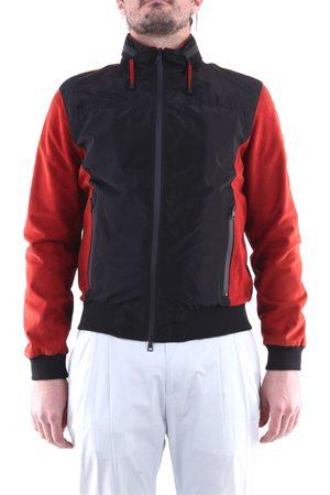 EMANUELE CURCI Jackets Leather jackets Men Black and