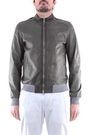 EMANUELE CURCI Jackets Leather jackets Men Military