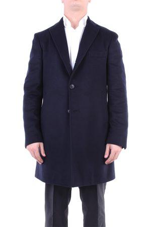 STEFANO SARTORI Outerwear Long Men Navy