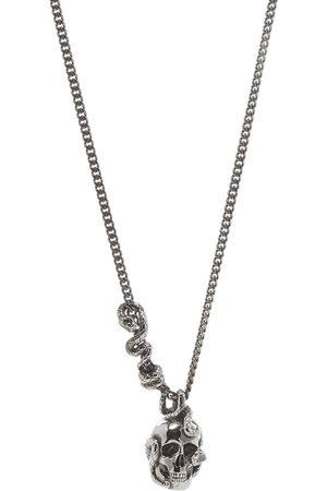 Alexander McQueen Skull & Snake Necklace