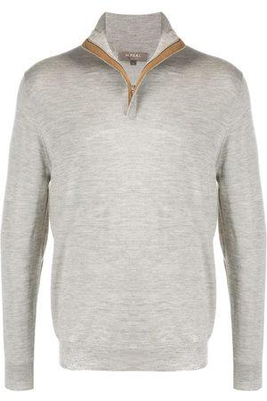 N.PEAL The Regent zip-up jumper - Grey
