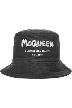 alexander mcqueen Men Hats - Graffiti Logo Bucket Hat