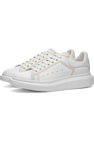 Alexander McQueen Men Platform Sneakers - Contrast Stitch Wedge Sole Sneaker