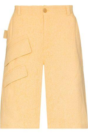 Jacquemus Men Bermudas - Colza Bermuda shorts - Neutrals