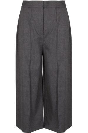 Proenza Schouler Melange suiting culotte trousers - Grey