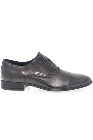ANTICA CUOIERIA Men Shoes - MEN'S ANTIC19765G GREY LEATHER LACE-UP SHOES