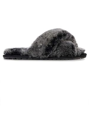Emu EMU Mayberry Frost Crossover Sheepskin Slipper Slide