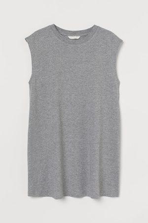 H&M Women Tank Tops - MAMA Sleeveless Cotton T-shirt