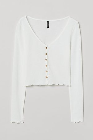 H&M Women Cardigans - Fitted Cardigan