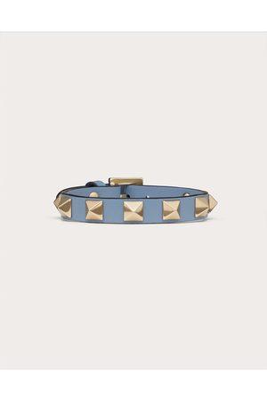 VALENTINO GARAVANI Women Bracelets - Rockstud Bracelet Women Azure 100% Pelle Di Vitello - Bos Taurus OneSize