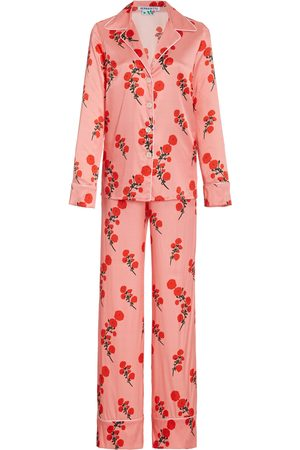 Bernadette Antwerp Women's Floral Satin Pajama Set - - Moda Operandi
