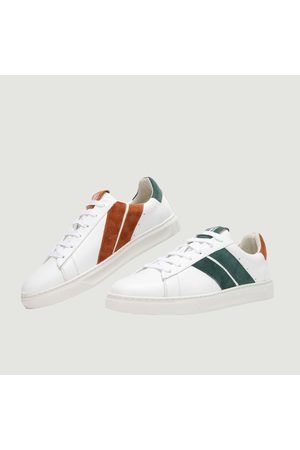 Caval Slash leather sneakers Ginger lagoon