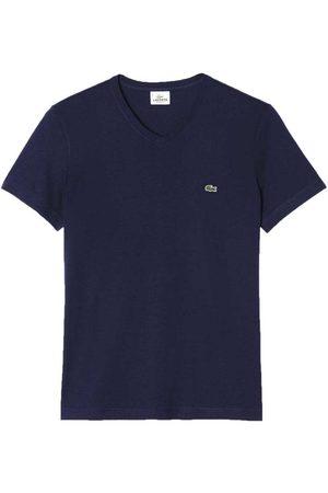 Lacoste Men Short Sleeve - Th2036 Short Sleeve T-shirt M Navy