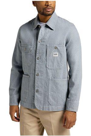 Lee Men Jackets - Box Pocket Loco Jacket L Rinse