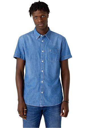 Wrangler Men Shirts - 1 Pocket M Light Summer