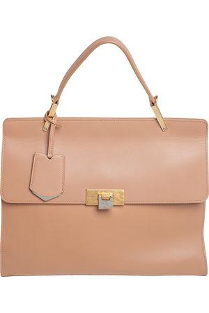 Balenciaga Women Purses - Leather Le Dix Cartable Top Handle Bag