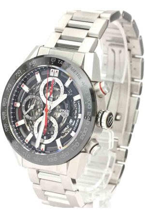 Tag Heuer Stainless Steel Carrera Caliber Heuer 01 Chronograph CAR201V Men's Wristwatch 43 MM
