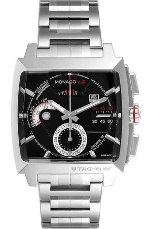Tag Heuer Men Watches - Stainless Steel Monaco LS Chronograph CAL2110 Men's Wristwatch 40.5 x 40.5 MM