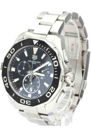 Tag Heuer Men Watches - Stainless Steel Aquaracer Chronograph 300M CAY111A Quartz Men's Wristwatch 43 MM