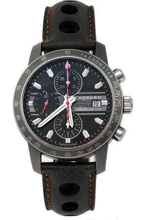 Chopard Men Watches - Grey Titanium Leather Grand Prix de Monaco Mille Miglia 168992-3032 Men's Wristwatch 42 mm