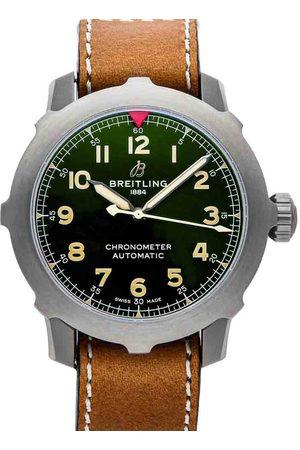 Breitling Men Watches - Titanium Aviator Super 8 B20 EB2040101L1X1 Men's Wristwatch 46 MM
