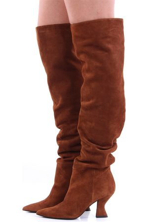 STEPHEN GOOD Women Thigh High Boots - Boots Above the knee Women Cookie