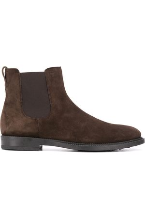 Tod's Men Ankle Boots - MEN'S XXM62C00P20RE0S800 SUEDE ANKLE BOOTS