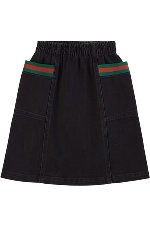 Gucci Kids - Denim Shirt - Girl - 6 years - - Denim skirts