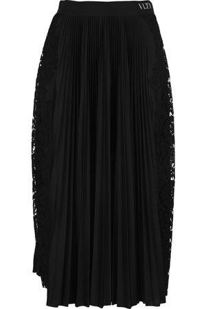 VALENTINO Pleated midi-skirt