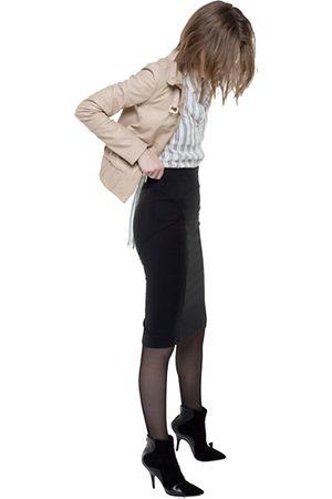 Patrizia Pepe Skirt Two-Way Stretch Pencil