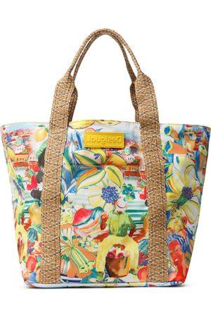 Desigual Tropicuban Print Bag - Tutti Frutti