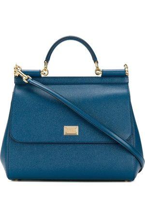 Dolce & Gabbana Women Purses - DOLCE E GABBANA WOMEN'S BB6235A100187398 LEATHER HANDBAG