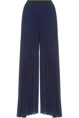 Fabiana Filippi Women's PAD129W888 Wide Leg Pleated Trousers in