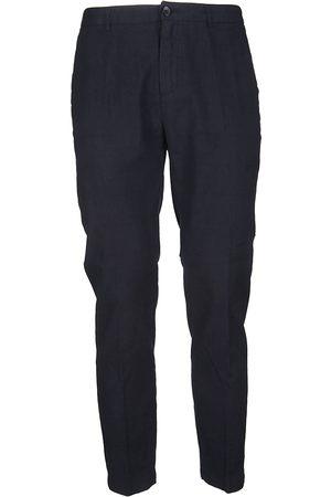 DEPARTMENT FIVE MEN'S U18P05T1811VE100BLU LINEN PANTS