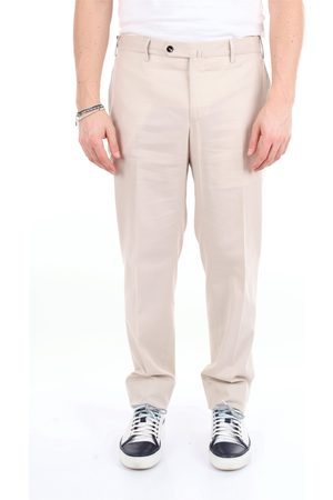 PT Torino Solid color slim fit trousers