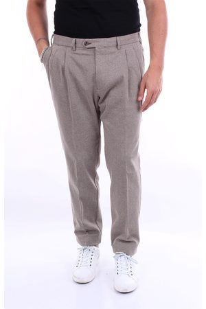 BARBA Trousers Chino Men and beige
