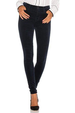 J Brand Women High Waisted - Maria High Rise Velveteen Skinny Jeans