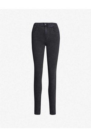 J Brand Skinny High-Rise Jeans