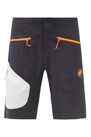 Mammut Delta X Sertig Perforated-shell Shorts - Mens