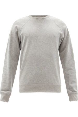 The Row Sal Cotton-loopback Jersey Sweatshirt - Mens - Grey