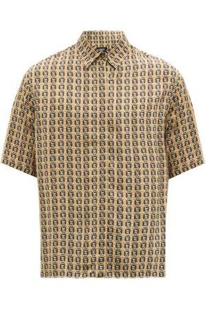 Fendi Ff-print Shirt - Mens - Multi