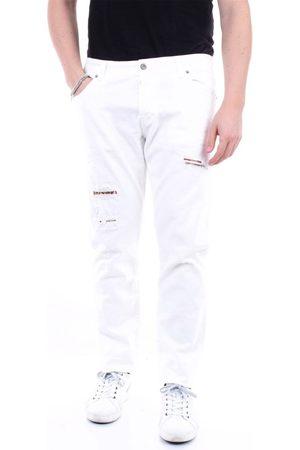 Messagerie Men Jeans - MEN'S 259204T09279BIANCO COTTON JEANS