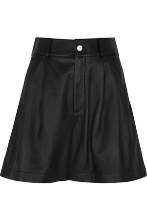 RED Valentino Women Shorts - Leather shorts