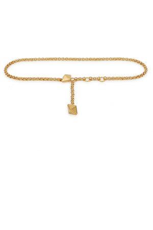 VALENTINO Garavani Rockstud -tone chain belt