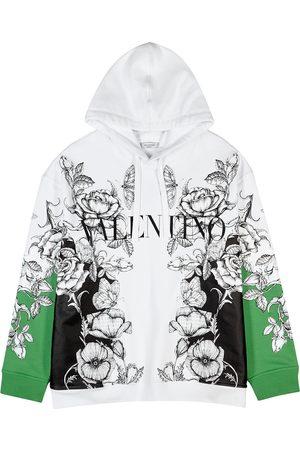 VALENTINO Men Sweatshirts - Printed cotton sweatshirt