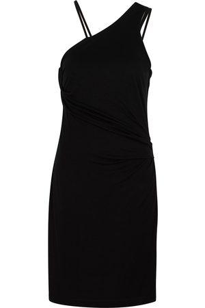Helmut Lang Women Casual Dresses - One-shoulder jersey mini dress