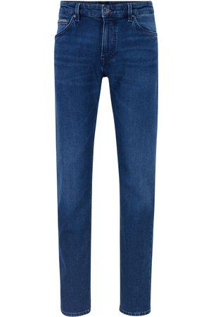 HUGO BOSS Men Stretch - Maine3+ Regular-fit jeans in comfort-stretch denim
