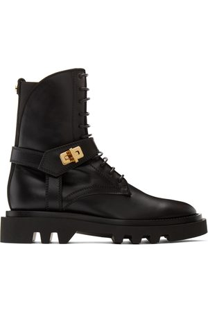 Givenchy Black Eden Ankle Boots