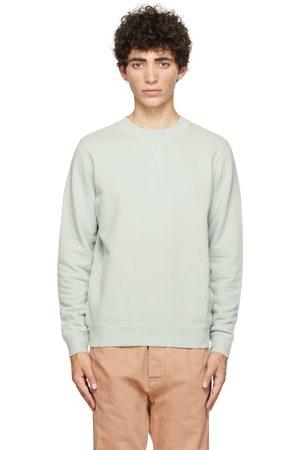 Sunspel Green Loopback Sweatshirt